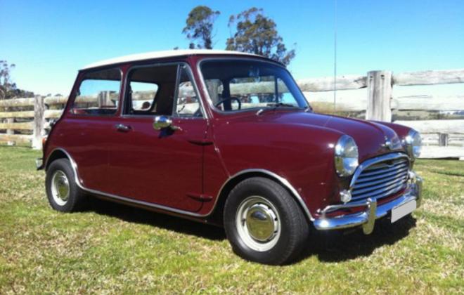 Burgundy Australian MK1 Morris Mini Cooper S.png