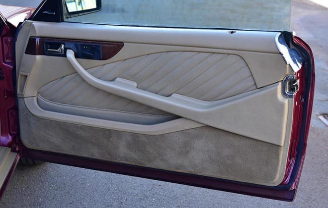 Burgundy maroon Mercedes 560SEC Australian delivered coupe car images (10).jpg