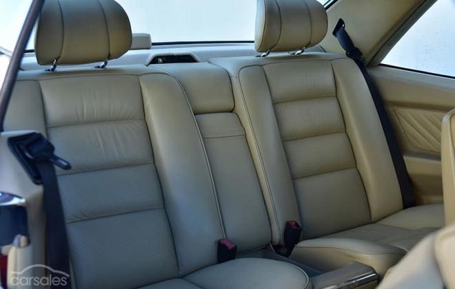 Burgundy maroon Mercedes 560SEC Australian delivered coupe car images (20).jpg