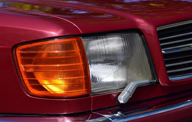Burgundy maroon Mercedes 560SEC Australian delivered coupe car images (8).jpg