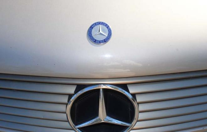 C140 Mercedes coupe S class front grille badges.jpg