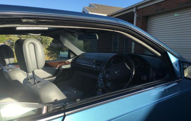 C140 W140 Mercedes s class coupe Quartz Blue images Australia RHD (10).jpg
