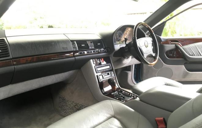 C140 W140 Mercedes s class coupe Quartz Blue images Australia RHD (11).jpg