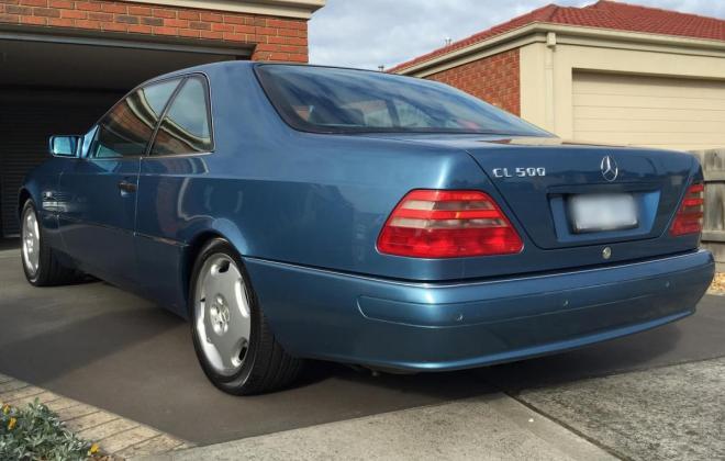 C140 W140 Mercedes s class coupe Quartz Blue images Australia RHD (4).jpg