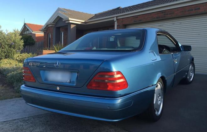 C140 W140 Mercedes s class coupe Quartz Blue images Australia RHD (7).jpg