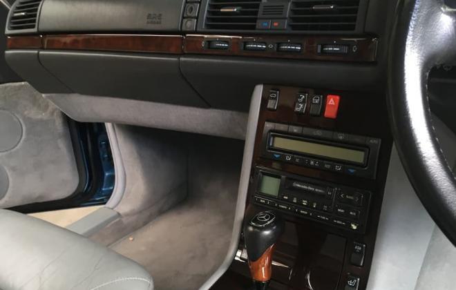 C140 W140 Mercedes s class coupe Quartz Blue images Australia RHD (8).jpg