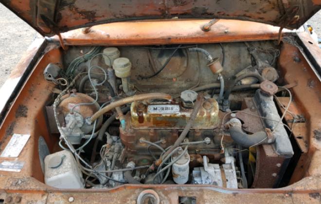 Cadiz Orange Australian Mini Clubman GT unrestored shell images 1971 (6).png