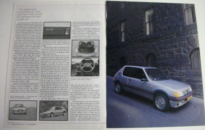 Car Australia magazine 205 GTI Australia review (1).jpg