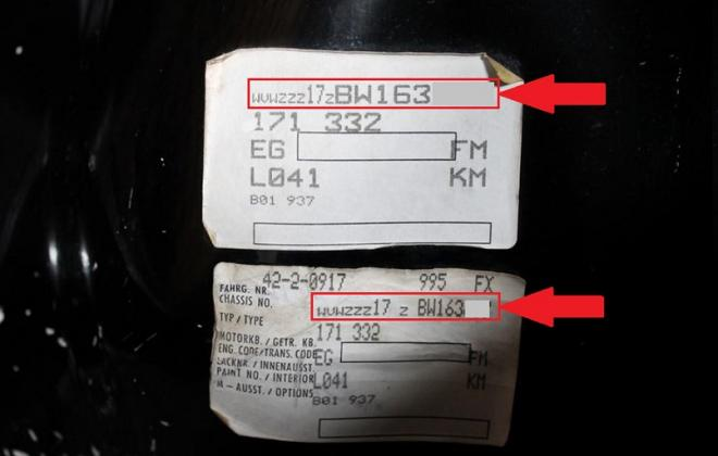 Chassis Number label VW GTI MK1 trunk.jpg