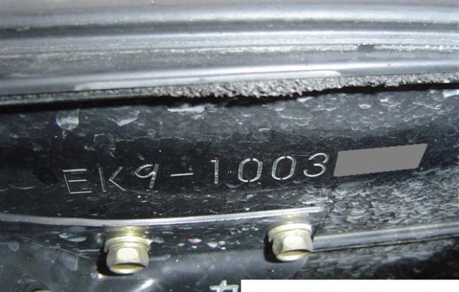 Chassis number stamping Honda Civic Type R EK9 2.JPG