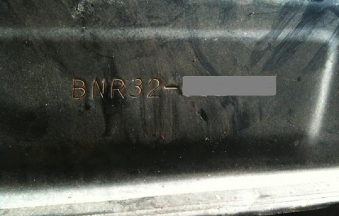 Chassis number stamping location R32 GTR V SPec II.jpg