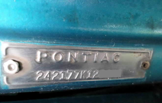 Chassis plate 1967 Pontiac GTO.png