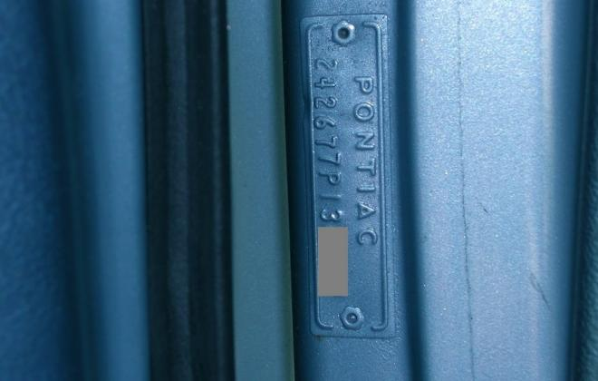 Chassis plate Pontiac GTO door pillar.jpg