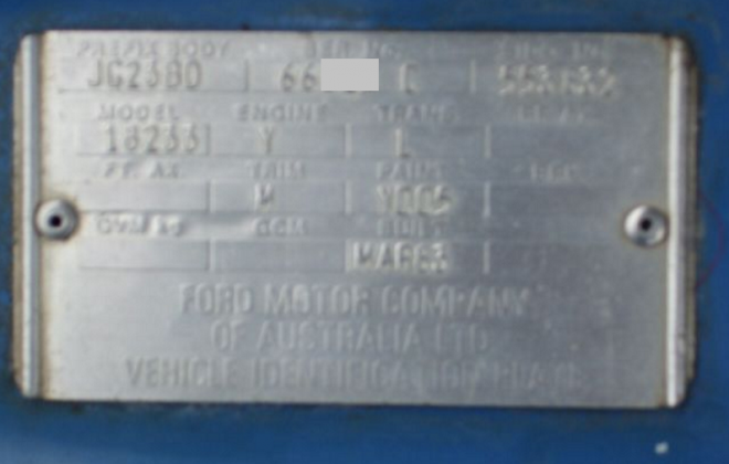Chassis plate XE Falcon Grand Prix Dick Johnson CDT.jpg