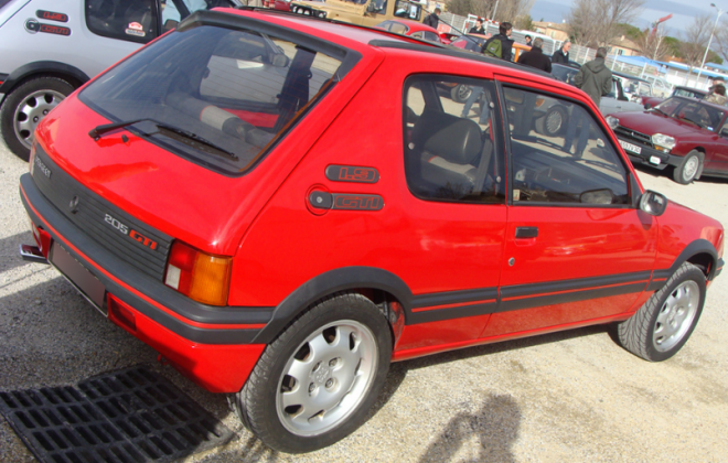 Cherry Red Le Mans Red Peugeot 205 GTI Phase 1.png