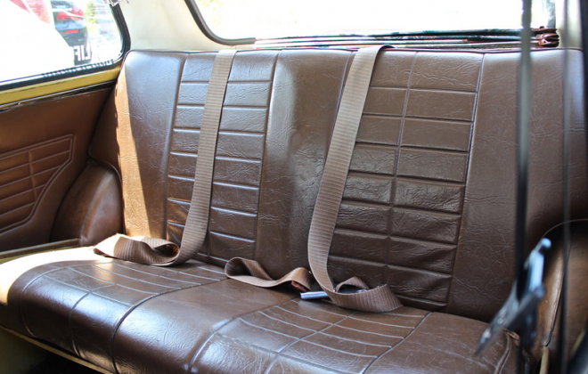 Chesnut vinyl trim Australian Clubman GT.png