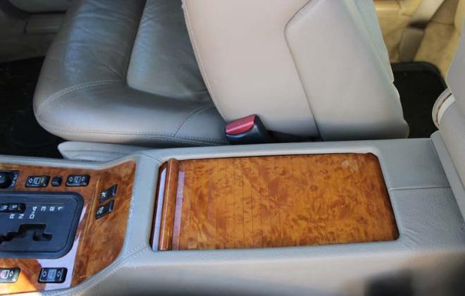 Chestnut C140 coupe Mercedes centre console lid.jpg