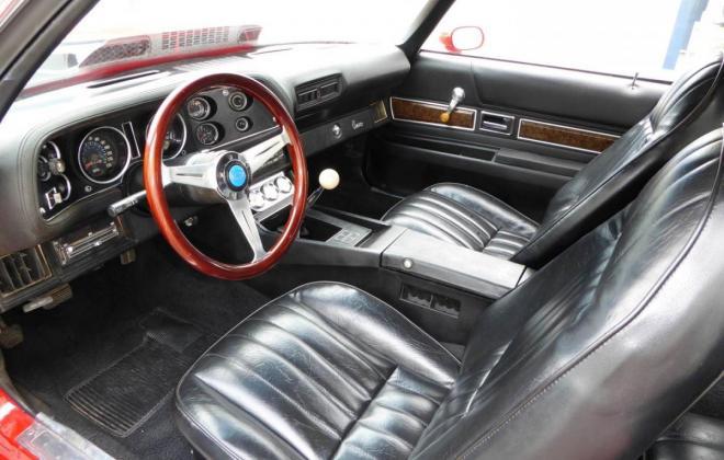 Chevrolet Camero SS front interior.JPG