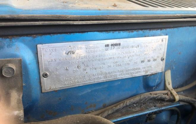 Chrysler GE Scorpion Coupe Australia manual images unrestored (5).jpg