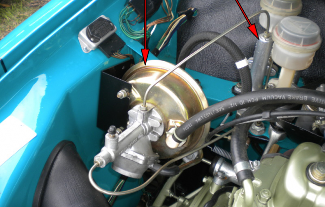 Clubman GT brake Booster VH44 and master cylinder.png