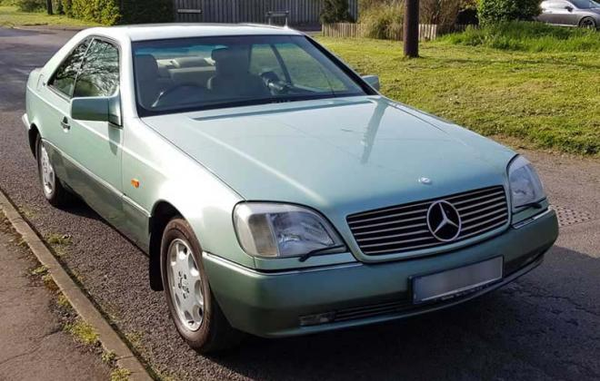 Crystal Green paint code 256 Mercedes C140 coupe over Tropengruen code 6856 .jpg