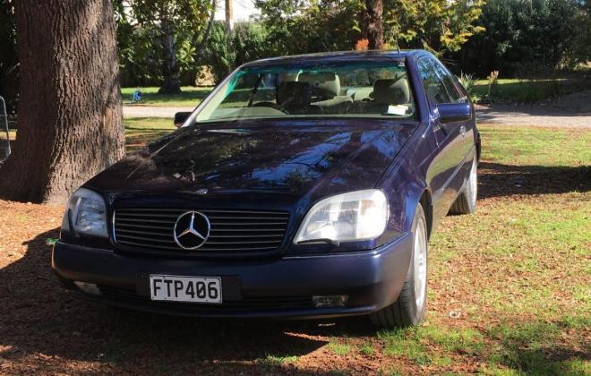 Dark Blue Mercedes S600 Coupe V12 1995 (1).jpg