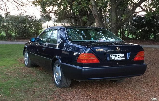 Dark Blue Mercedes S600 Coupe V12 1995 (2).jpg