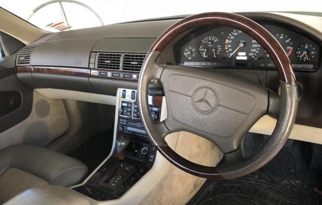 Dark Blue Mercedes S600 Coupe V12 1995 (4).jpg