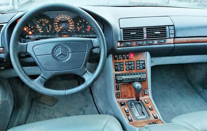 Dark Grey 1993 Mercedes 500SEC C140 (2).jpg