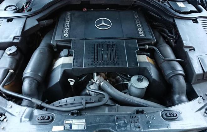 Dark Grey 1993 Mercedes 500SEC C140 (3).jpg