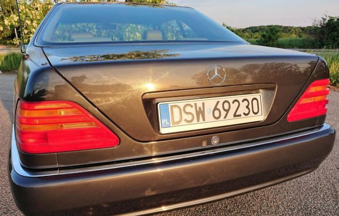 Dark Grey 1993 Mercedes 500SEC C140 (4).jpg