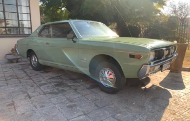 Datsun 260C Coupe 1974 green South Africa RHD rare 2 door (10).png