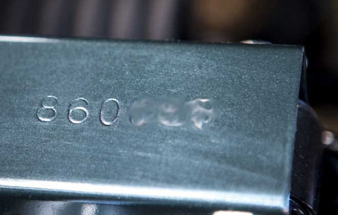 E-Type Series 1 Jaguar chassis number car number location on picture frame (3).png