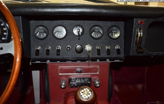 E-Type central dashboard instruments vinyl black finish.png
