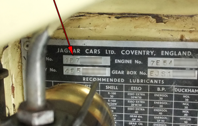 E-type Series 1.5 car number location on chassis plate 1968.png