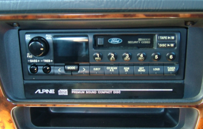 EB Ford Falcon GT factory Alpine sound system tape deck.png