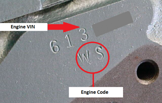 Engine Code and VIN 1967 GTO.png