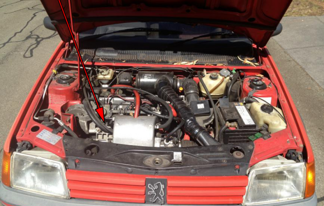Engine number location 205 GTI Phase 1.5.png