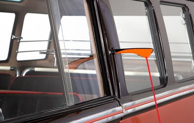 European spec Trafficator on Volkswagen Samba bus Deluxe Microbus.jpg