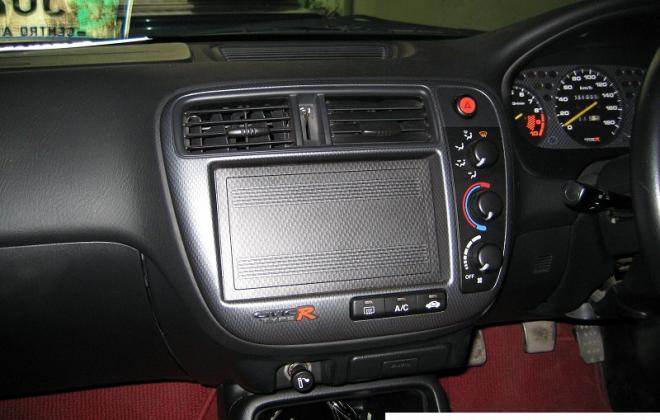 Facelifted dash fascia civic Type R ek9.JPG