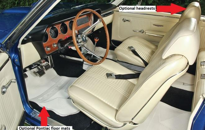 Factory headrests on bucket seats - 1966 Pontiac GTO.jpg