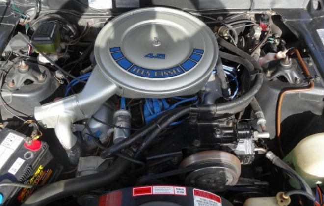 Ford Fairmont Ghia XE ESP 4.9l 302ci engine bay image (1).png