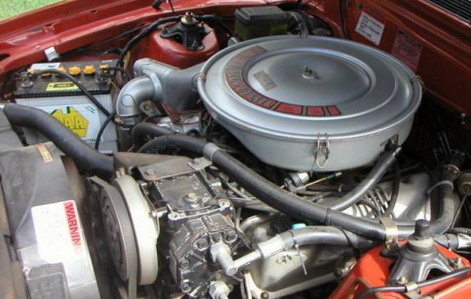Ford Fairmont Ghia XE ESP 5.8l 351ci engine bay image (1).png