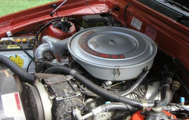 Ford Fairmont Ghia XE ESP 5.8l 351ci engine bay image (3).jpg