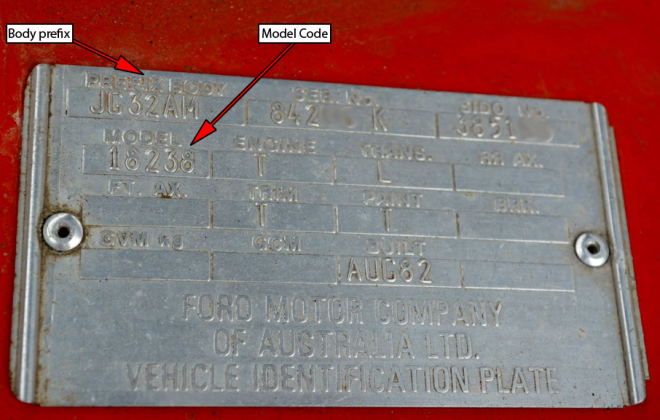 Ford Fairmont Ghia XE ESP chassis plate model code and body prefix code  (3).png