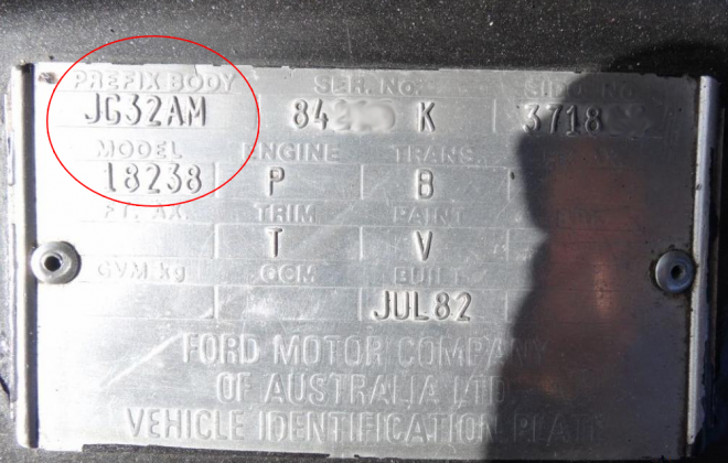 Ford Fairmont Ghia XE ESP chassis plate model code and body prefix code  (4).png