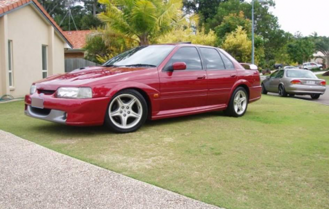 Ford Falcon EB GT Cardinal Red paint code G5 images.png