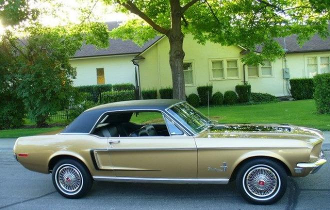 Ford Mustang 1968 Golden Nugget special edition images NZ (1).jpg