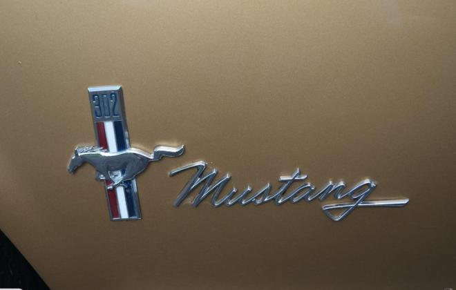 Ford Mustang 1968 Golden Nugget special edition images NZ (12).jpg