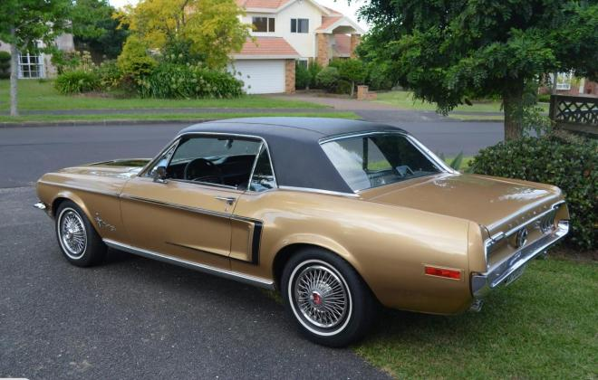 Ford Mustang 1968 Golden Nugget special edition images NZ (16).jpg